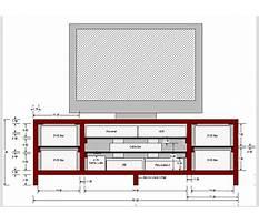 Tv stand cabinet design Plan