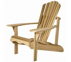 Unassembled adirondack chairs Plan