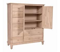 Unfinished furniture dresser chest Plan