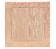 Unfinished kitchen cabinet doors replacement Plan
