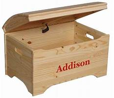 Unfinished wooden toy boxes Plan