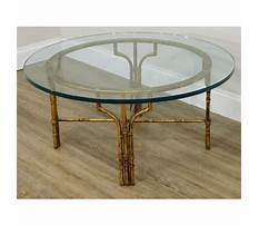 Unique coffee table bases for glass tops Plan