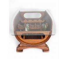 Unique coffee table bases for wine holders Plan