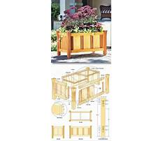 Unique planter box designs Plan