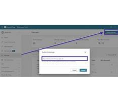 Upload bing sitemap xml to wordpress site Plan