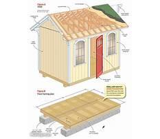 Utility shed plans free Plan