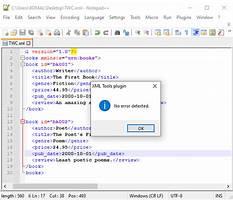 Validate xml against schema Plan