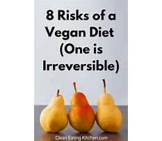 Vegan diet unhealthy for some Plan