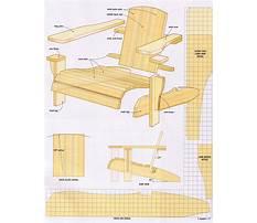 Vintage bench chair Plan