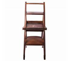 Vintage library ladder chair Plan