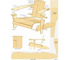 Vista adirondack chair plans Plan