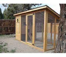 Walk in chicken coop kit Plan