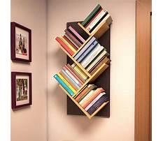 Wall shelves for books Plan