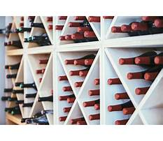 Wall wine rack build Plan