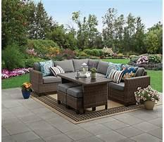 Walmart outside furniture set Plan