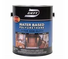 Water based polyurethane.aspx Plan
