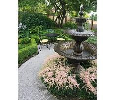 Water fountain garden.aspx Plan