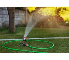 Water garden supplies Plan