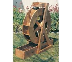 Water wheel plans free Plan