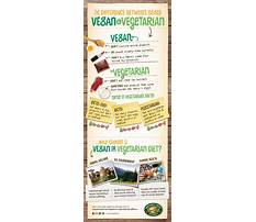 What is the difference between vegan and vegetarian diets Plan