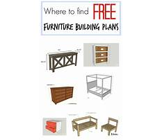 Where to buy furniture Plan