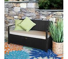 Wicker bench cushions Plan
