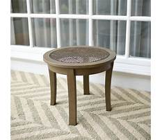 Wicker end tables for living room Plan