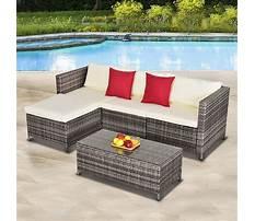 Wicker outdoor sofa Plan