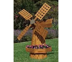 Windmill planter plans Plan