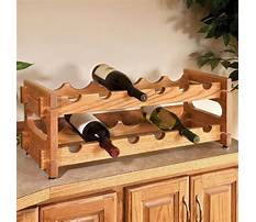 Wine cabinet wood Plan