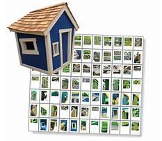 Wonky playhouse plans free Plan