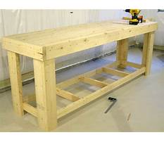 Wood bench plans lowes Plan