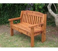 Wood bench used Plan
