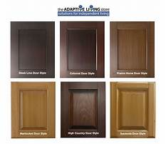 Wood cabinet finishes colors Plan