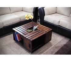 Wood crate coffee table diy.aspx Plan