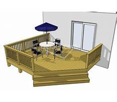 Wood deck plan.aspx Plan