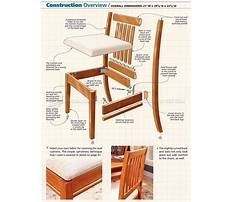 Wood dining room chair plans Plan