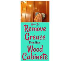 Wood kitchen cabinets how to clean Plan