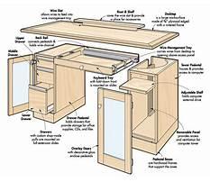 Wood laptop desk plans Plan
