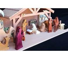 Wood nativity pattern Plan