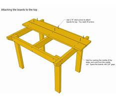 Wood needed to build a desk Plan