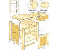 Wood night stand.aspx Plan