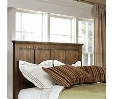Wood panel headboard diy.aspx Plan