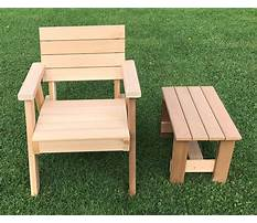 Wood patio chair plans Plan