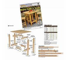 Wood plans magazine Plan