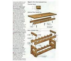 Wood plans wine rack Plan