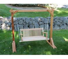 Wood porch swings canada Plan