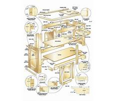 Wood project blueprints Plan