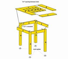 Wood project table.aspx Plan
