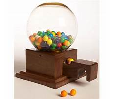 Wood projects gumball machine Plan